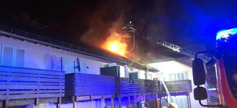 Brandeinsatz – Gebäudebrand