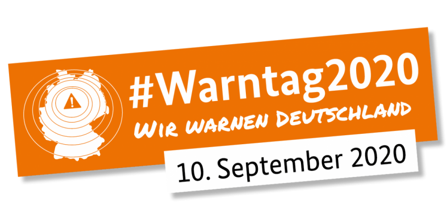 Logo Warntag2020